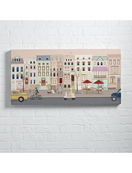 City Street Wall Art by Crate&Barrel