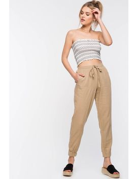 Cabo Linen Trouser by A'gaci