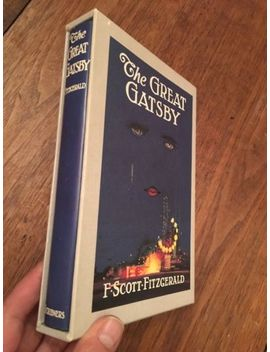 First Edition Library The Great Gatsby F. Scott Fitzgerald Facsimile In Slipcase by Ebay Seller
