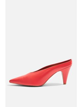 Juicy V Cut Mules by Topshop