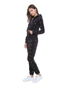 Velour World Currency Robertson Jacket by Juicy Couture