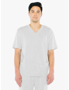 Thick Knit Scrub Pullover by American Apparel