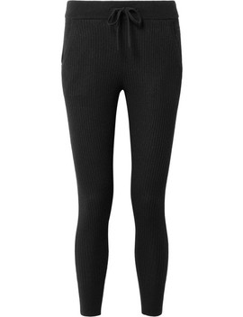 Ribbed Cashmere Leggings by James Perse