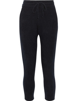 Cashmere And Silk Blend Track Pants by The Elder Statesman