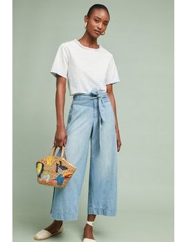 Pilcro Cropped Wrap Pants by Pilcro And The Letterpress