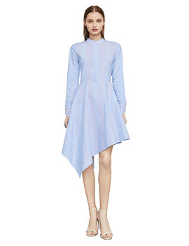 Rayanne Asymmetrical Shirt Dress by Bcbgmaxazria