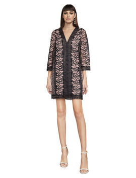 Kimora Lace A Line Dress by Bcbgmaxazria