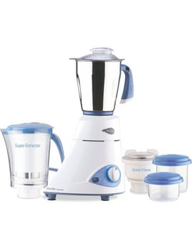 Preethi Blue Leaf Platinum Mixer Grinder, 110 Volts by Preethi