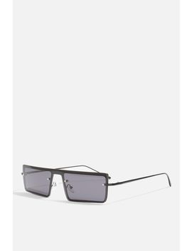 Wicked Visor Frame Sunglasses by Topshop