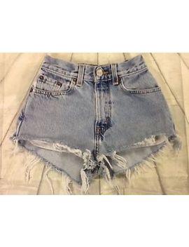 """Vintage Levi's High Waist Shorts """"Mom Jeans"""" Size 00 0 2 6 10 12 14 16 18 #V1 by Levi's"""
