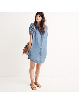 Denim Courier Shirtdress In Lauryn Wash by Madewell