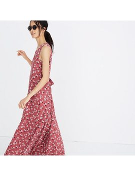 Tie Waist Maxi Dress In Vintage Daisies by Madewell