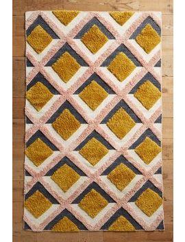 Handgefertigter Trellis Teppich by Anthropologie