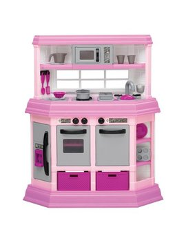 American Plastic Toys Deluxe Custom Kitchen With 22 Accessories by American Plastic Toys