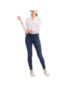 Time And Tru Women's Full Length Soft Knit Color Jegging by Time And Tru