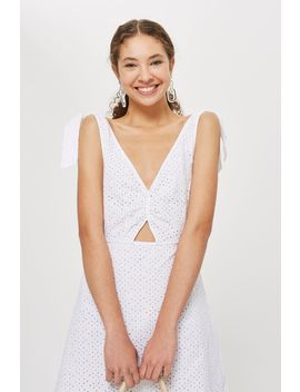 Broderie Mini Sundress by Topshop