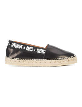 Givenchy Women's  Black Leather Espadrilles by Givenchy