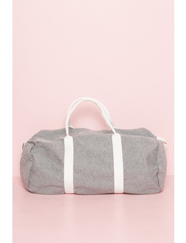 Heather Grey Duffle Bag by Brandy Melville