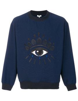 Embroidered Eye Sweatshirt by Kenzo