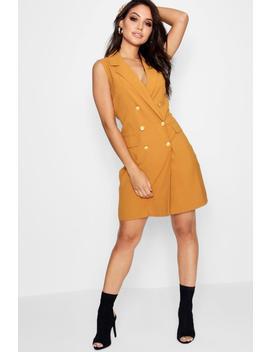 Amelia Sleeveless Blazer Dress by Boohoo