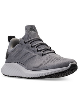 Men's Alpha Bounce City Running Sneakers From Finish Line by Adidas