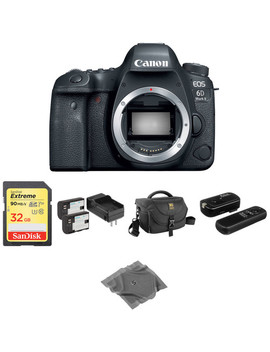 Eos 6 D Mark Ii Dslr Camera Body Basic Kit by Canon