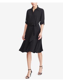 Fit & Flare Shirtdress by Lauren Ralph Lauren