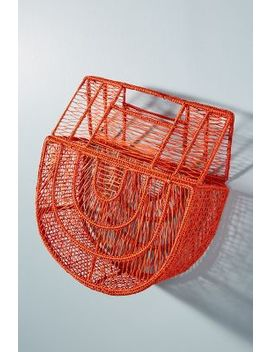 Birdcage Petite Basket Bag by Anthropologie