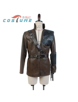 Green Arrow Oliver Queen Malcolm Merlyn Dark Archer Coffee Coat Outfit Mask Halloween Carnival Cosplay Costume by Costume Buy