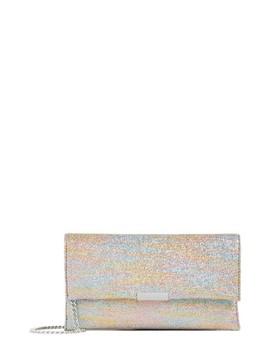 Rainbow Lamé Tab Clutch by Loeffler Randall