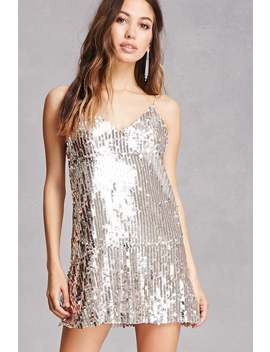 Sequin Cami Shift Dress by Forever 21