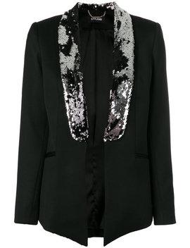 Sequin Embellished Blazer by Styland