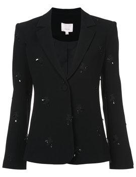 Sequin Embellished Blazer by Cinq A Sept