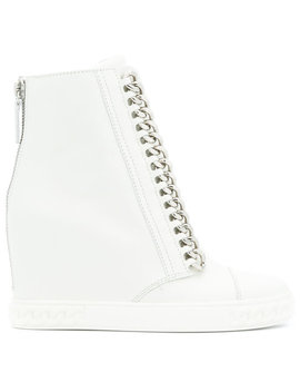 Concealed Wedge Sneakers by Casadei