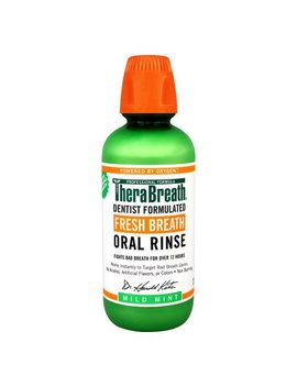 Thera Breath Fresh Breath Oral Rinse, Mild Mint, 16.0 Fl Oz by Thera Breath