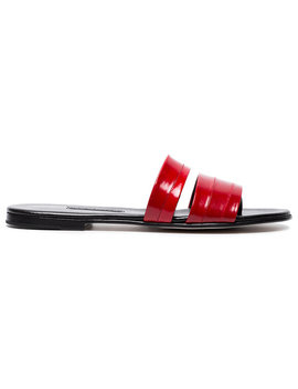 Red Roma Iii Leather Sandals by Newbark
