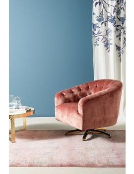 Anselle Swivel Chair by Anthropologie