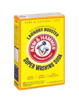 Arm & Hammer Super Washing Soda Booster, 55 Oz by Arm & Hammer