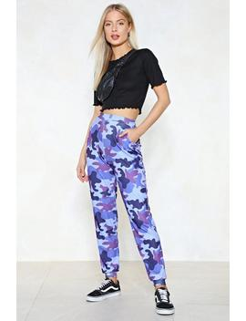 March Of The Damned Camo Joggers by Nasty Gal
