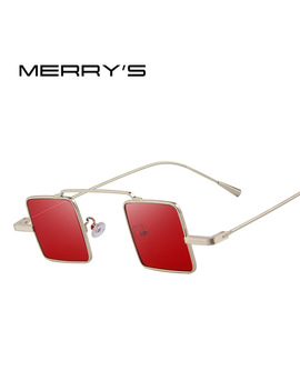 Merry's Vintage Women/Men Steampunk Square Sunglasses S'8084 by Merry's Official Store