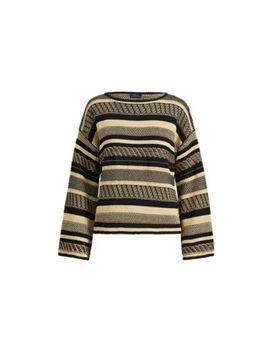 Linen Bell Sleeve Sweater by Ralph Lauren