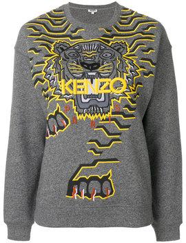 Tiger Motif Sweatshirt by Kenzo