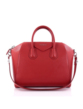 Pre Owned: Antigona Bag Leather Medium by Givenchy