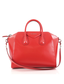 Pre Owned: Antigona Bag Glazed Leather Medium by Givenchy