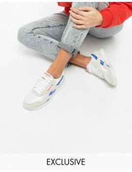Reebok 'leisure Pack' Classic Nylon Trainers Exclusive To Asos by Reebok