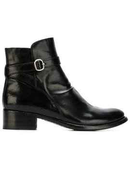 Buckle Detail Ankle Boots by Officine Creative