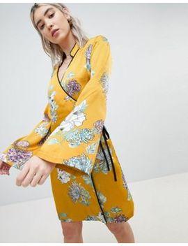 Boohoo Kimono Sleeve Dress by Boohoo