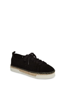 Theera Perforated Espadrille Sneaker by Vince Camuto
