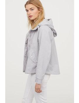 Jacke Aus Pima Baumwolle by H&M