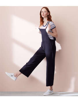 Lou & Grey Twill Overalls by Loft